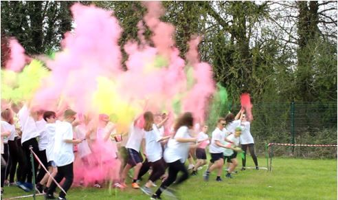 Colour run pic